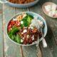 Leichte Küche mit europäischem Lammfleisch