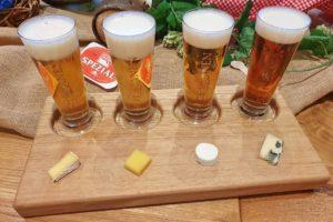 Bierkulturhotel Schwanen, Ehingen – Bier-Tasting mit edler Schokolade und Käsespezialitäten