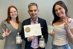 Kult-Gin aus Köln jetzt mit drei Mal Gold ausgezeichnet