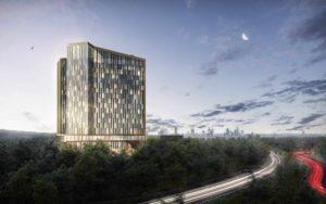 Deutsche Hospitality und Groß & Partner kündigen spektakuläres Hotel am Flughafen Frankfurt an