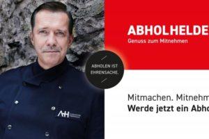 Sternekoch Alexander Herrmann kooperiert mit Gastroplattform Abholhelden