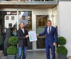 Umweltcheck: Brauhaus und BierKulturHotel Schwanen erhält Auszeichnung in Gold